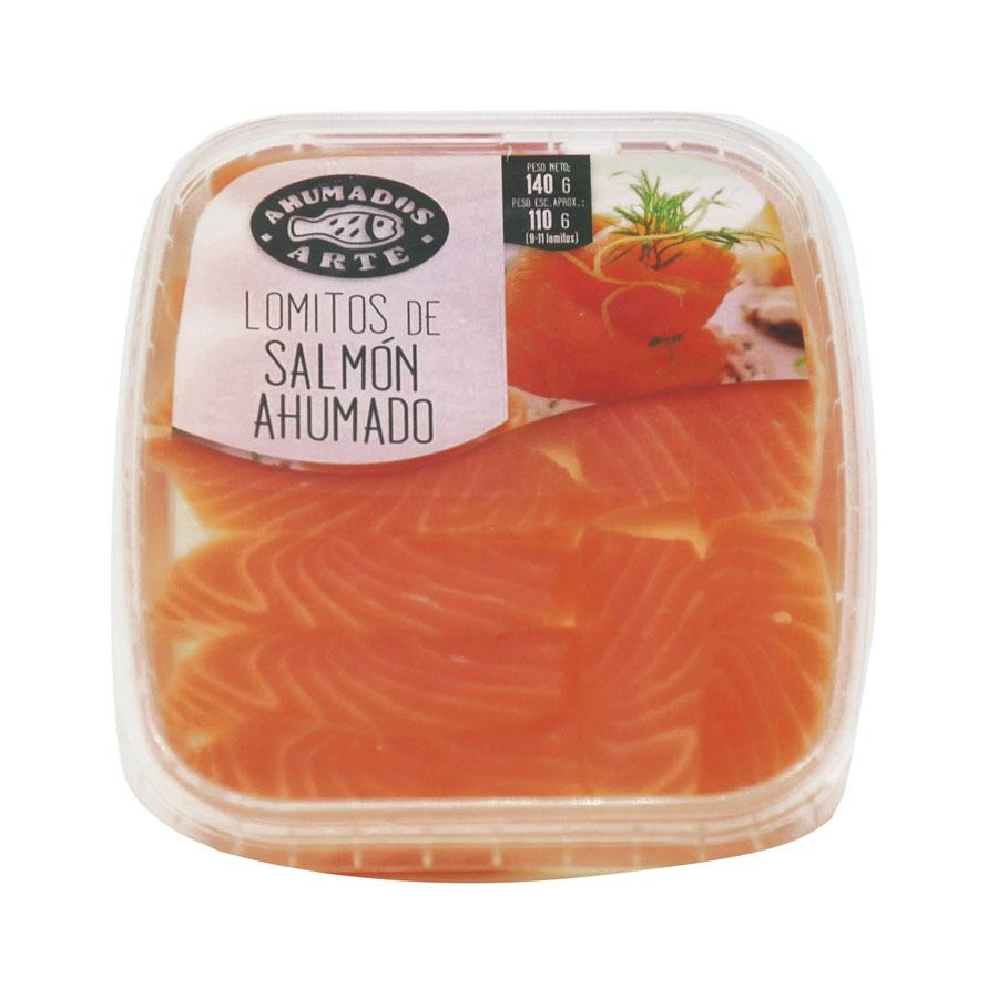 Lloms de salmó fumat