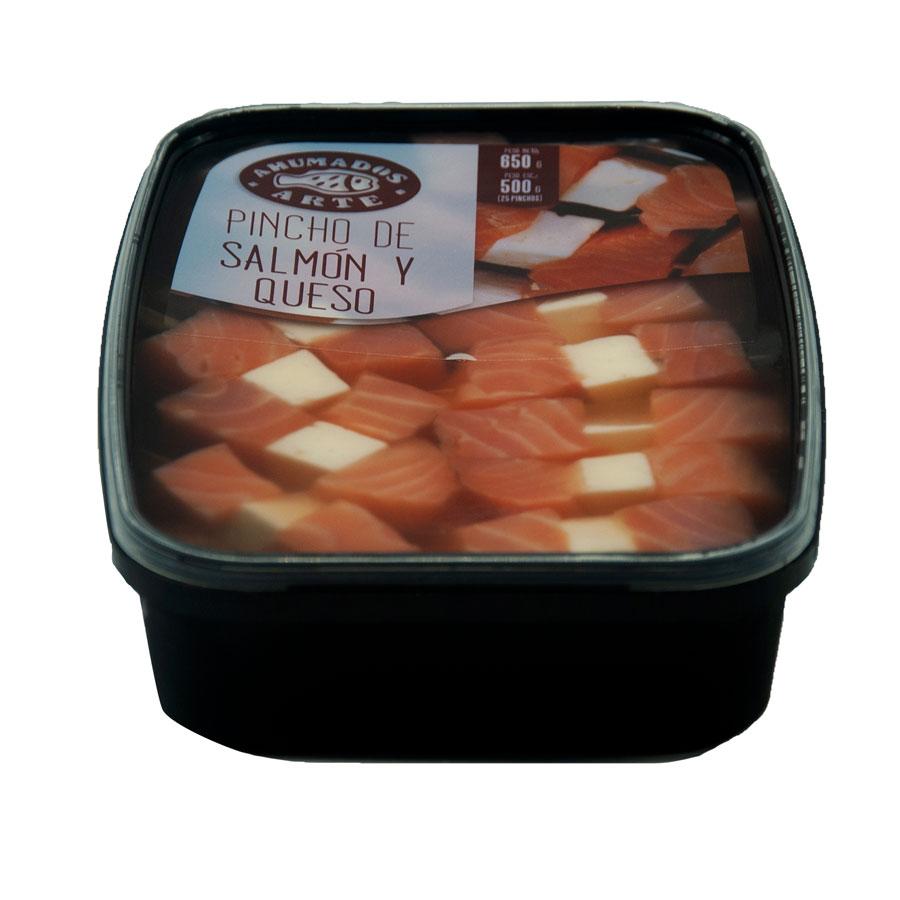 Pinxo de salmó amb formatge
